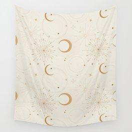 Celestial light fabrics Wall Tapestry