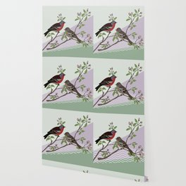 loving chaffinches Wallpaper