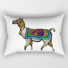 Lofty Llama Rectangular Pillow