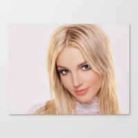 britney Canvas Prints featuring britney  by Just Be Love