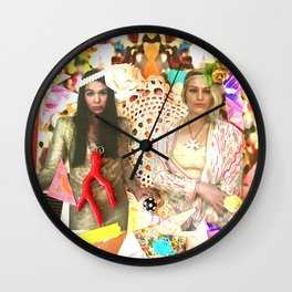 City of Sogni D'oro Collage Wall Clock