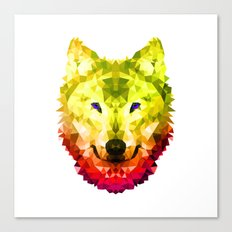 Golden Wolf Canvas Print