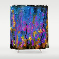 Acrylic spring Shower Curtain