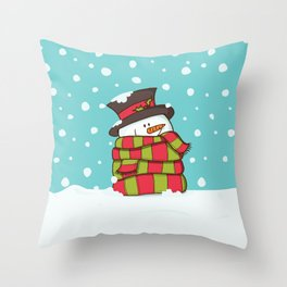 Warmest Wishes Throw Pillow