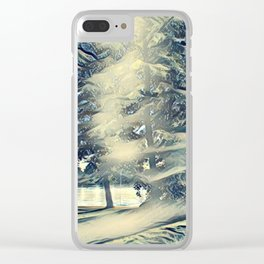 Gorgeous Scenery Clear iPhone Case