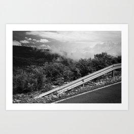 The Smoke Monster Art Print