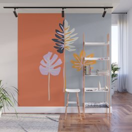 Double-sided leaves Wall Mural