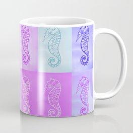 pastel seahorses 2 Coffee Mug