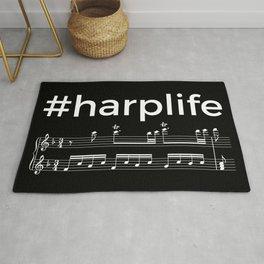 #harplife (dark colors) Rug