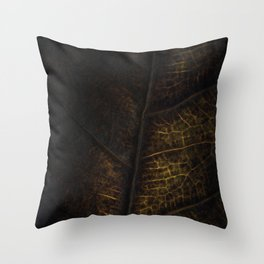 Leaf Six Throw Pillow