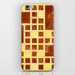 Nemissos V1 - painted squares iPhone Skin