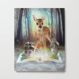 Believe In Magic Metal Print