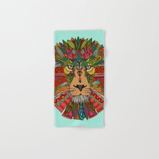 lion mint Hand & Bath Towel