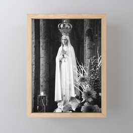 Our Lady of Fatima Framed Mini Art Print