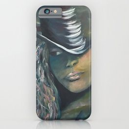 Invisible 2 by Lu iPhone Case