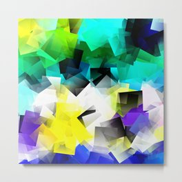 Dance of colors. Choreography for Peace Metal Print