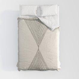 Minimalist Boho Triangles Comforters