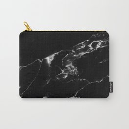 Black Marble I Carry-All Pouch