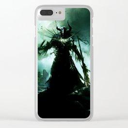 final battle Clear iPhone Case