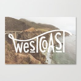 West Coast - BigSur Canvas Print