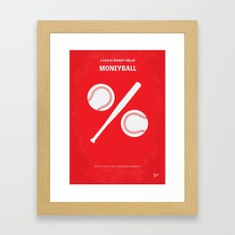No191 My Moneyball mmp Framed Art Print
