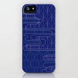 Sashiko Diamonds iPhone Case