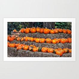 Pumpkin Time. Art Print