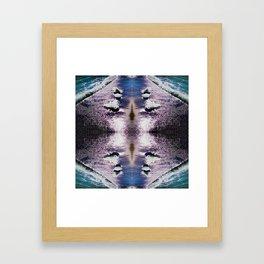 97 - Seashore abstract Framed Art Print