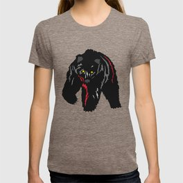 Grizzly Bear Rumbling by the River T-shirt