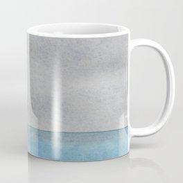 Minimalist watercolor seascape Coffee Mug