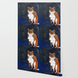 Lunar Kitsune Wallpaper