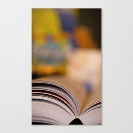 Elemental Baking - Recipe Canvas Print
