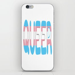 queer - transgender iPhone Skin