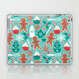 Gingerbread Christmas Treats Laptop & iPad Skin