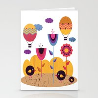 spring Stationery Cards featuring Spring by Kakel