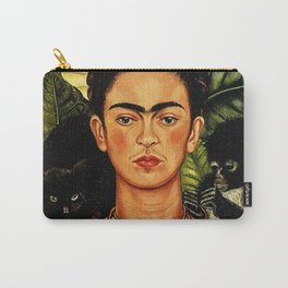 Frida Kahlo Cat Carry-All Pouch