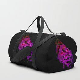 Fantastical Phosphorescent Foxglove Duffle Bag