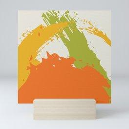 Colorful Brush Strokes AP176-5 Mini Art Print