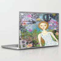 belle Laptop & iPad Skins featuring Belle by inara77