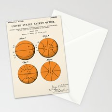 Basketball Patent Stationery Cards