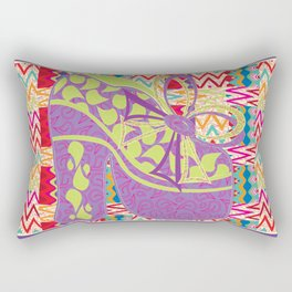 Purple Limelight Rectangular Pillow