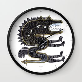 decorative surreal dragon Wall Clock