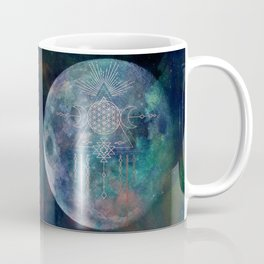Lunar Goddess Mandala Coffee Mug