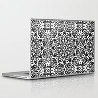 oriental Laptop & iPad Skins featuring Oriental Pattern by LebensARTdesign