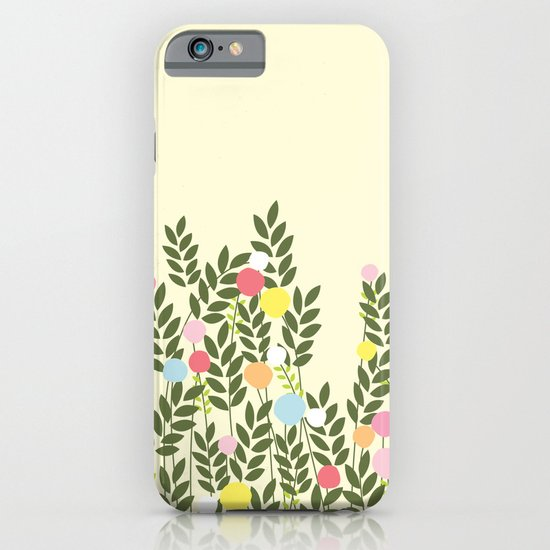 graphic flowers iPhone & iPod Case