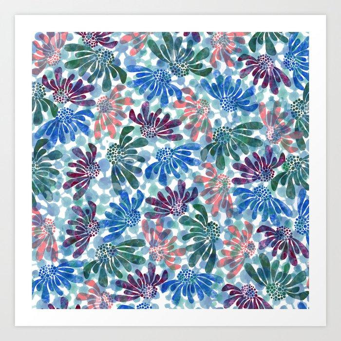 pattern 67 Art Print