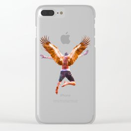 New York Icarus Watercolor Clear iPhone Case