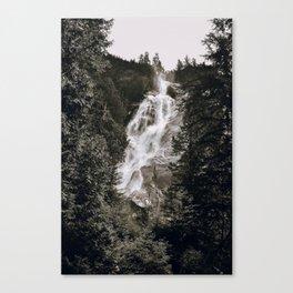 Waterfall III / Canada Canvas Print