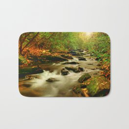 Fall Along Rock Castle Bath Mat