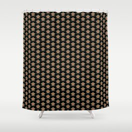 Pattern with stars 1 Shower Curtain